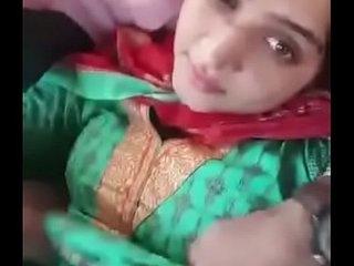 paki sister boob press brother by in car at new