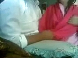 very Hot Pakistani Couple Kissing