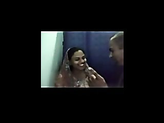 Young desi couple have sex in a cyber cafe cabin