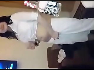 Desi girl dancing for boyfriend