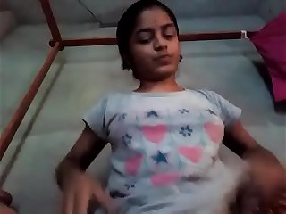Indian Tamil girl cucumber masturbation